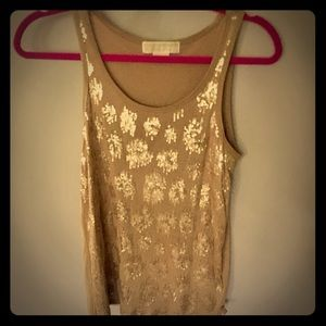 NWOT, Michael Kors, Sequin, Tank-Top